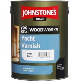 Лак для наружных работ JOHNSTONE'S Yacht Varnish глянцевый 0,75 л