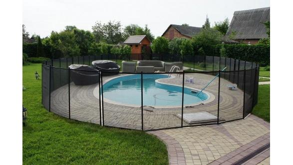 Захисні огорожі для басейнів