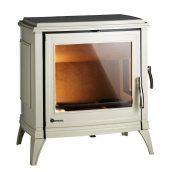 Чугунная печь INVICTA SEDAN 15 12 кВт эмалированная бежевая