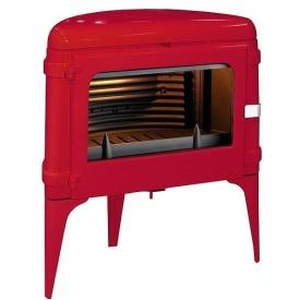 Чугунная печь INVICTA LUNA 10 кВт красная