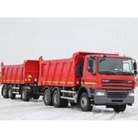 Перевезення будматеріалів DAFом до 45 т