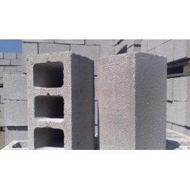Шлакоблок сухопресований стіновий