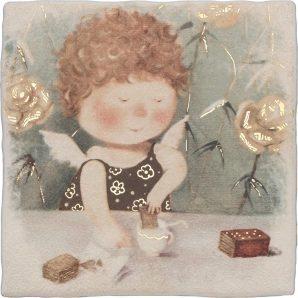 Плитка декоративная АТЕМ Ruth 1 Baby 200x200 мм