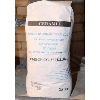 Смесь клеящая сухая Ceramit СС-27 25 кг