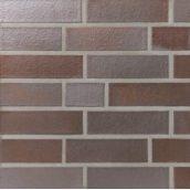 Клинкерный лицевой кирпич Terca KBB-f 240х115х71 мм темно-красный пестрый