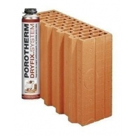 Керамічний блок Porotherm 30 1/2 Dryfix 300x124x249 мм