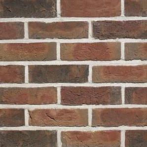 Кирпич ручной формовки Terca Kastanjebruin 210х100х50 мм красный пестрый