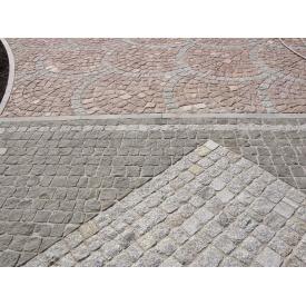 Гранітна бруківка Покостівське 100х100х50 мм сіра