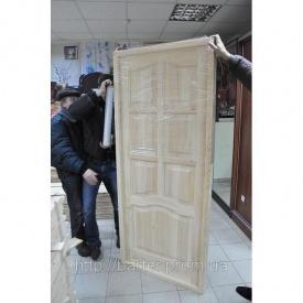 Двері натуральні дерев'яні соснові