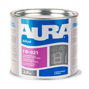 Ґрунтовка Aura ГФ-021 А 0,9 кг чорний