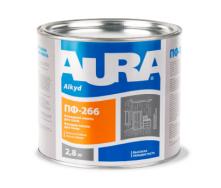 Эмаль Aura ПФ-266 для пола А 0,9 кг желто-коричневый
