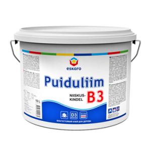 Клей ПВА Eskaro B3 Niiskuskindel Puiduliim 2,5 л