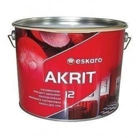 Краска Eskaro Akrit 12 9,5 л