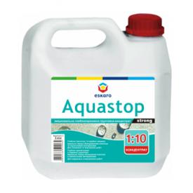 Укрепляющая грунтовка-концентрат Eskaro Aquastop Strong 3 л