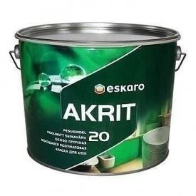 Краска Eskaro Akrit 20 интерьерная 9,5 л