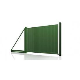 Ворота из профлиста 2x3 м