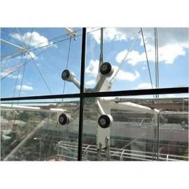 Спайдерне фасадне скління