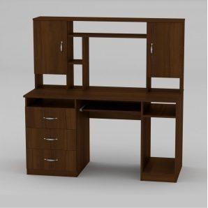 Компьютерный стол Компанит Менеджер 1400х598х756 мм орех