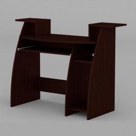 Комп'ютерний стіл Компанит СКМ-4 1230х500х756 мм венге