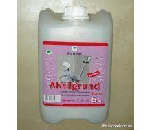 Грунтовка глубокого проникновения AKRILGRUND концентрированная 1:4 5 кг