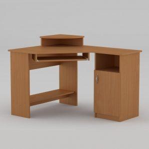 Компьютерный стол Компанит СУ-1 1200х900х749 мм бук