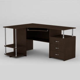 Комп'ютерний стіл Компанит СУ-4 1500х1100х766 мм венге
