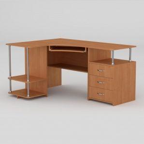 Компьютерный стол Компанит СУ-4 1500х1100х766 мм ольха