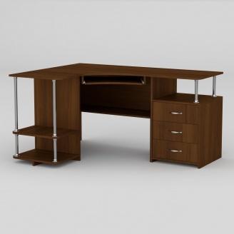 Компьютерный стол Компанит СУ-4 1500х1100х766 мм орех