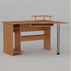 Компьютерный стол Компанит СУ-7 1200х1000х736 мм бук