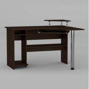 Компьютерный стол Компанит СУ-7 1200х1000х736 мм венге