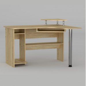 Компьютерный стол Компанит СУ-7 1200х1000х736 мм дуб сонома