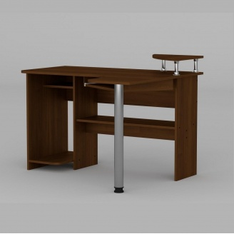 Компьютерный стол Компанит СУ-7 1200х1000х736 мм орех
