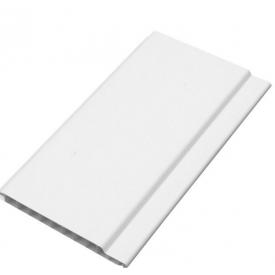 Пластикова панель ПВХ стандарт матова 100 мм біла