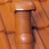 Вентиляционная насадка Braas Duro Vent DN 125 коричневая