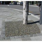 Садовая дорожка Каменный ковер вокруг дерева
