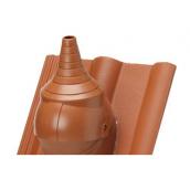 Антенная насадка Braas Duro Vent DN 125 коричневая