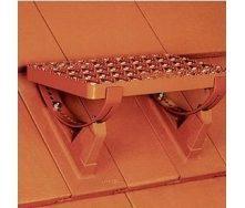 Ступень для трубочиста Braas стальная коричневая