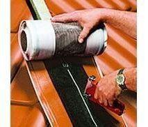 Подконьковая лента Braas Фигароль 0,28х10 м коричневая