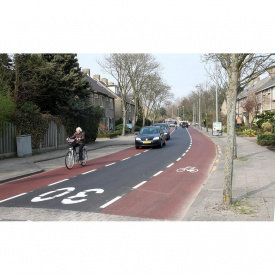 Обустройство велосипедной дорожки