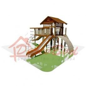 Дитячий майданчик STANDART 8 для дітей 6-14 років 660x740 см 350 мм