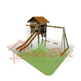 Дитячий майданчик STANDART 5 для дітей 6-14 років 540х550 мм 350 см