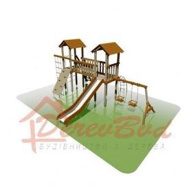 Дитячий майданчик STANDART 4 для дітей 6-14 років 540х690 мм 330 см