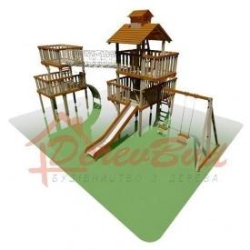 Дитячий майданчик STANDART 10 для дітей 6-14 років 1080x600 см 550 мм