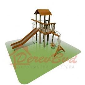 Дитячий майданчик STANDART 2 для дітей 6-14 років 540х410 мм 330 см