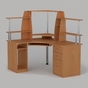 Компьютерный стол Компанит СУ-11 1500х1250х736 мм бук