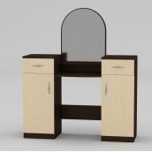 Туалетный столик Компанит Трюмо-2 1180х1390х390 мм венге