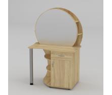 Туалетный столик Компанит Трюмо-3 957х1432х598 мм дуб-сонома