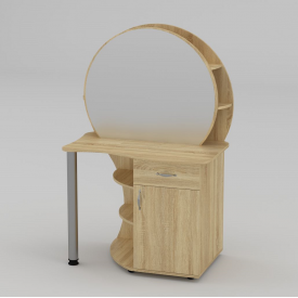 Туалетний столик Компанит Трюмо-3 957х1432х598 мм дуб сонома