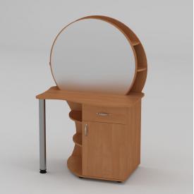 Туалетний столик Компанит Трюмо-3 957х1432х598 мм вільха