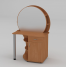 Туалетный столик Компанит Трюмо-3 957х1432х598 мм ольха
